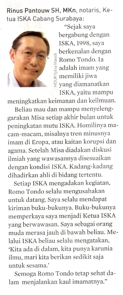 Majalah Hidup , Maret 2013