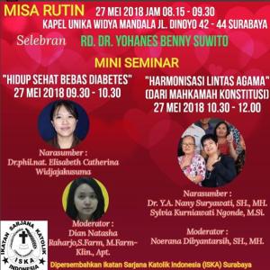 Misa Rutin 27 Mei 2018